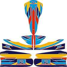 2015 fa alonso style complet kart sticker kit to fit M5 carrosserie-karting-otk
