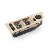 Beige Window Mirror Switch Control Unit For BMW E90 E91 318i 320i 325i 335i