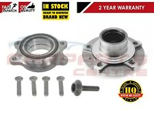 FOR AUDI A4 8K B8 2007- FRONT WHEEL HUB FLANGE + BEARING KIT BOLT KIT SET NEW