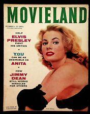 MOVIELAND - DECEMBER 1956 - ELVIS, DEAN, MONROE, CLIFT, ADAMS, MINEO, WOOD