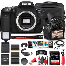 Canon EOS 90D DSLR Camera Body Only 3616C002  - Advanced Bundle