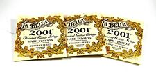 La Bella Guitar Strings 3 Sets Hard Silver Plated Wound Classical 2001