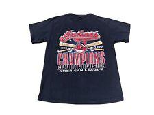 Vintage 1995 Cleveland Indians American Central Division Champs T shirt Medium