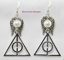 Hook Silver Plated Drop/Dangle Round Costume Earrings