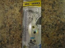 """New listing Reaction Strike """"2Rc Series"""" 2.0 Crankbait - Foil Pearl Shad - New In Pack"""