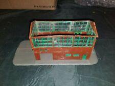HO Brown Brick Factory Building