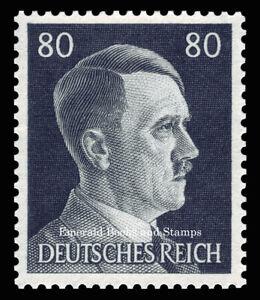 EBS Germany 1941 - Hitler Head - 80 Pfennig - Hitlerkopf - Michel 798 MNH**