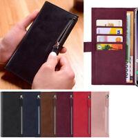 Bestie Zipper Wallet Case for Samsung Galaxy Note9 Note8 Note5