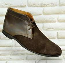 CLARKS Marrón Cuero Hombre Botas al Tobillo Chelsea todos Informal Zapato Talla 10 UK 44.5 EU