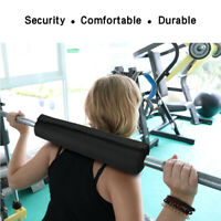 Nylon Barbell Pad Squat Bar Gym Fitness Neck Weight Lifting Shoulder Protect New