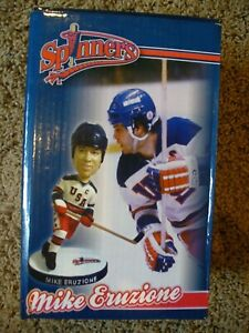 Lowell Spinners Mike Eruzione 2010 Bobblehead Miracle On Ice USA Olympic Hockey