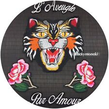 Tiger patch / Slogans / Flower/ Sew on patch /Embroidered Patch/Tattoo patch