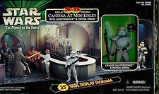Star Wars 3D Display Diorama POTF Cantina Scene w Figures New 1998