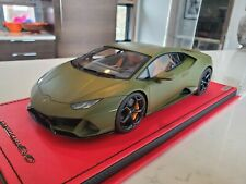 1/18 MR Collection Lamborghini Huracan Evo Coupe Matte Green 1 of 5 *LIMITED