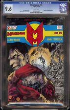 Miracle Man # 15 CGC 9.6 White (Eclipse, 1988) Death of Kid Miracle Man