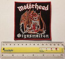 MOTORHEAD - Orgasmatron  - patch -   FREE SHIPPING