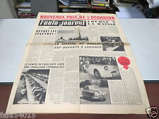 L AUTO JOURNAL N° 65 1er nov 1952 Morris Oxford contre Fiat 1400/ Borgward Han *