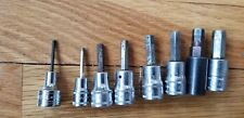 Snap on Tool Others 8pc metric hex socket set 2.5 to 10mm USA Professioanal DEAL