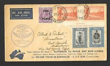 More details for australia to papua and new guinea first official air mail cover 1934 (ref 0076)