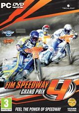 FIM Speedway Grand Prix 4 (PC DVD) NEW & Sealed