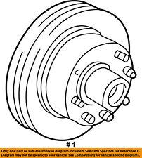 brake discs rotors hardware for ford e 450 econoline super duty Ford F -250 ford oem 97 02 e 350 econoline club wagon front brake disc rotor