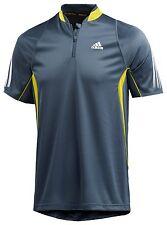 Adidas Mittenium Polo Shirt blau UVP:45€ NEU