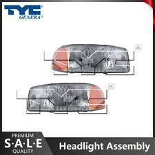 TYC Right Headlight Assembly for 1999-2006 GMC Sierra 1500  ox