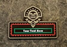 Personalized Polynesian Resort Themed Sign / Plaque - Custom Text