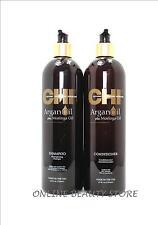 CHI Argan Oil Plus Moringa Oil Shampoo & Conditioner 25 oz duo, NEW