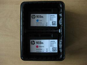 Original HP 933 xl Druckerpatronen OfficeJet 6100 6600 6700 7100 7510A Cyon und