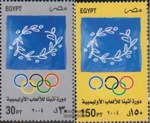 Ägypten 2232-2233 (kompl.Ausg.) postfrisch 2004 Olympische Sommerspiele