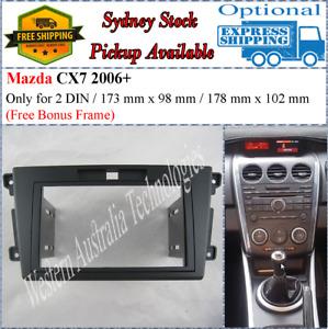Fascia facia Fits Mazda CX7 CX-7 ER Double Two 2 DIN Dash Kit*
