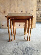Nest of Three Tables in Yew