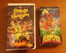 Lot 2 VHS Tapes Scooby Doo Zombie Island Ghoul School