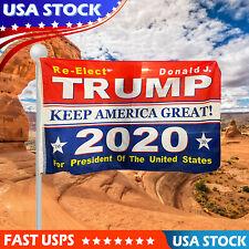 Trump 2020 3x5 Ft Flag President Republican Keep America Great Donald MAGA Flag