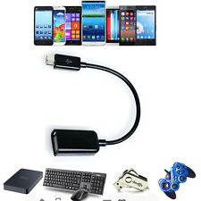 Micro USB Host OTG On-the-Go Adaptor Adapter Cable Cord For HKC Android Tablet