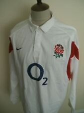 ENGLAND RUGBY UNION SHIRT SIZE XL LONG SLEEVED