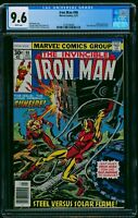 Iron Man #98 CGC NM+ 9.6 White Pages