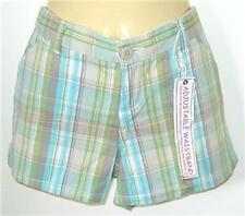 Girls JUST JEANS green brown shorts sz 6 NEW bnwt