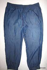 Ann Taylor LOFT Jogger Lyocell Pants Womens Size 12 Casual Denim Like Weekend