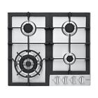 """Haier HCC2230AGS 24"""" Stainless 4-Burner Gas Cooktop NOB #46801 HRT photo"""