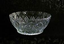 KIG Indonesia Pineapple & Stars Design Crystal Clear Fruit / Dessert Bowl