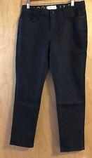 Kate Spade New York Broome Street Lean Capri Dark Denim Jeans Pants Size 27 NWT