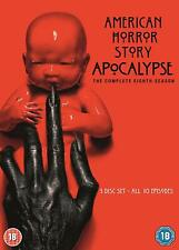 AMERICAN HORROR STORY APOCALYPSE SERIES 8 DVD COLLECTION 8th Eighth Season Eight