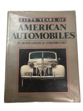 1989 Fifty Years of American Automobiles   L3728