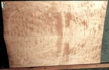 Flame Figured Maple Wood 8087 Luthier Solid Body Guitar Top set 23 x 16+ x .3125