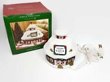 New Listing Department 56 Pine Isles Holiday Barn Dance Christmas Village House