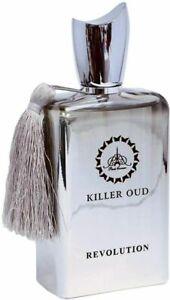 Revolution Killer Oud Men's Eau de Parfum Fragrance 100ml PARIS CORNER PERFUMES