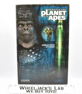 """General Ursus Leader Beneath the Planet of the Apes Sideshow 12"""" Figure MISB"""
