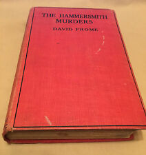 Hammersmith Murders - David Frome (Leslie Ford) 1st Ed. SIGNED By Author RARE!